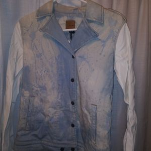 One of a kind vintage Stone washed jacket